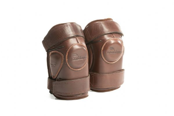 Casablanca Kneepads Brown - Double Strap Small Lady/Child